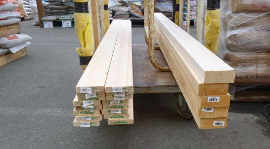 木材ツーバイフォー