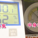 シリカゲル乾燥剤とチャック付きポリ袋で湿度40%に調節する方法を発見