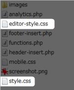 CSSファイルの作成場所