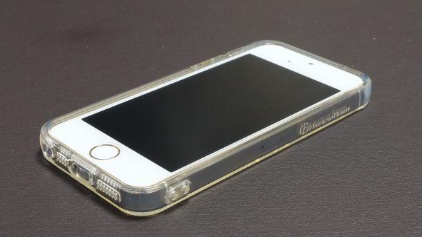 iPhoneTPUクリアケース前面