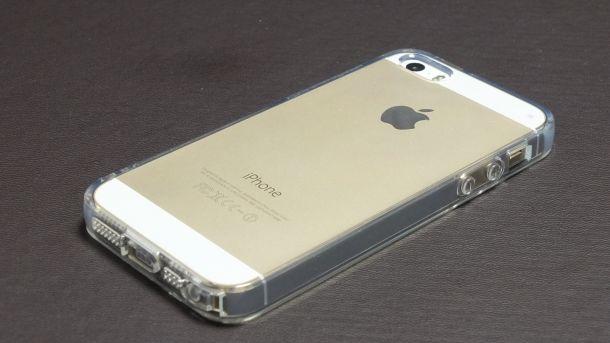 iPhoneTPUクリアケース背面