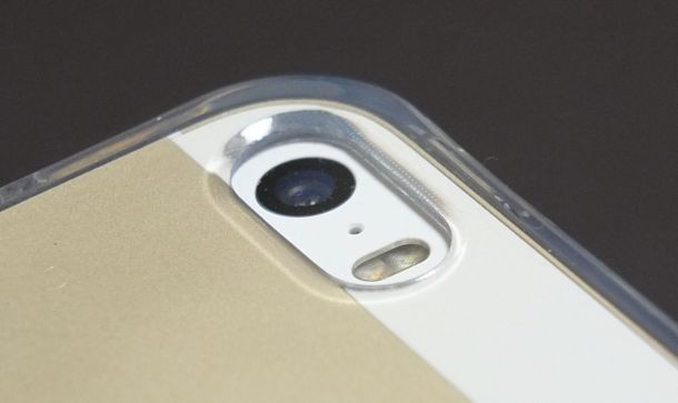 Highend berry iPhoneクリアケース背面カメラ