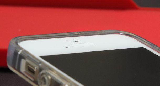 Highend berry iPhoneクリアケース液晶パネル