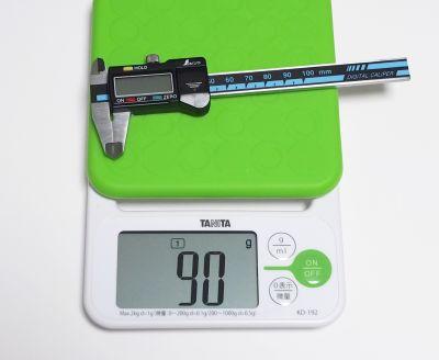 デジタルノギス重量