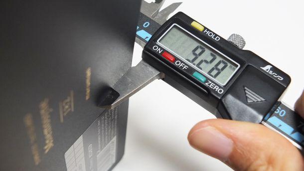 デジタルノギス計測