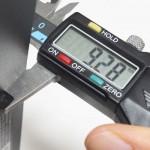 シンワ製デジタルノギスを購入|使い方簡単で器差0.03mmの精度が実用的