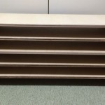 [ DIY ]板とボンドだけで机上台や幅広の棚を自作