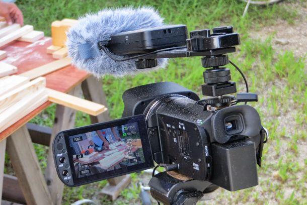 動画の撮影機材