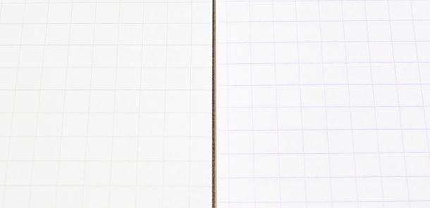 ニーモシネとロディアの罫線