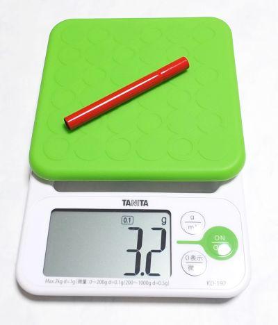 カランダッシュ鉛筆補助軸重量