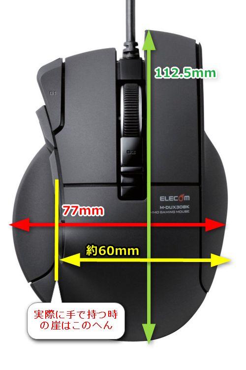 M-DUX31BKサイズ