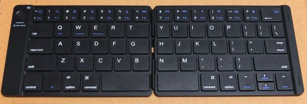 Ewin Bluetoothキーボード折りたたみ式