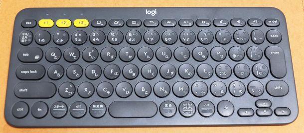 ロジクールBluetoothキーボードK380