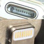 [ 掃除 ]iPhoneの充電ができない → 充電端子とライトニングケーブルの掃除